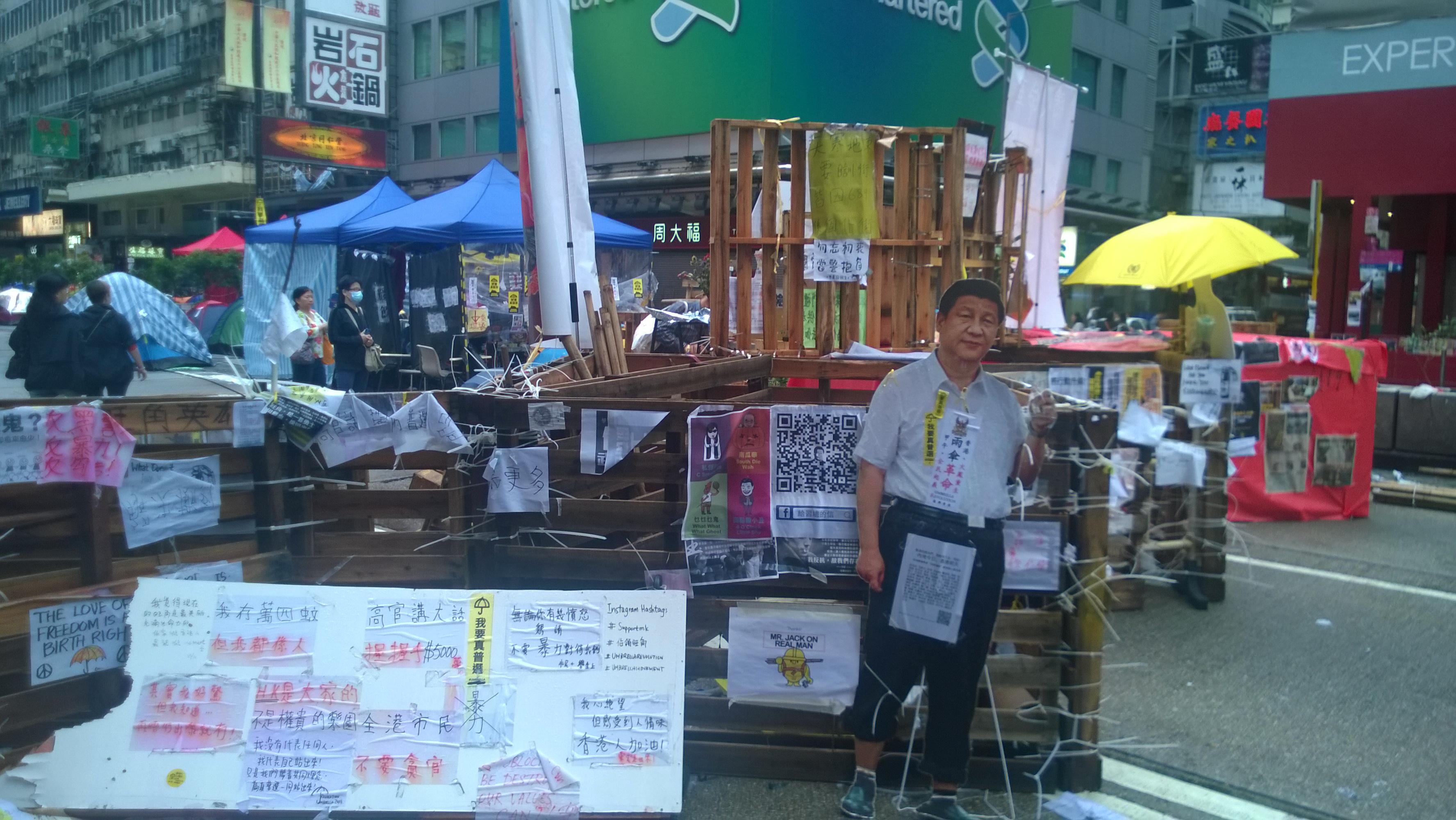 Occupy Hong Kong - Mong Kok